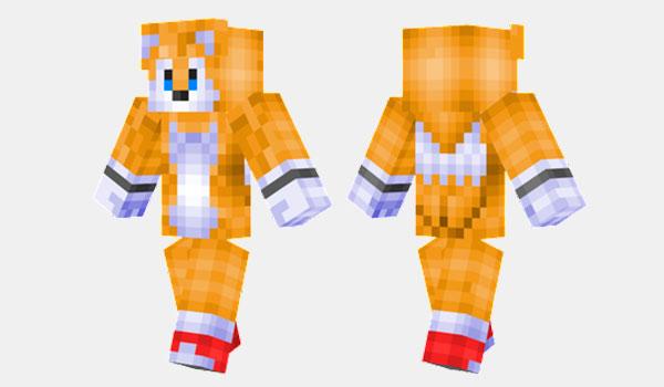 Tails Skin para Minecraft