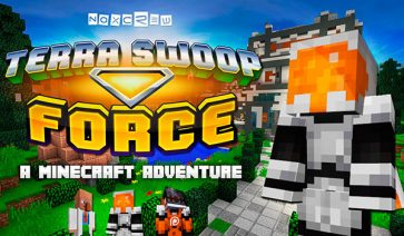 Terra Swoop Force Map para Minecraft 1.11