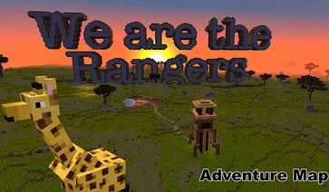 We Are The Rangers Map para Minecraft 1.9