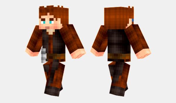 Anakin Skywalker Skin para Minecraft