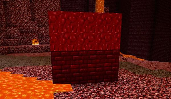 Dos nuevos bloques decorativos, basados en el Nether, para Minecraft 1.10.