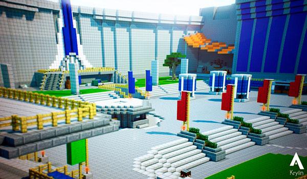 Un fan recrea los escenarios de Destiny en Minecraft.