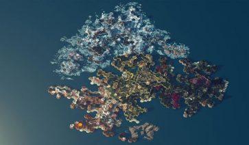Un jugador recrea, en 400 horas, el mapa de Endless Legend en Minecraft.