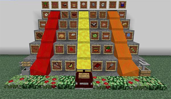 Extra Food Mod para Minecraft 1.9 y 1.9.4