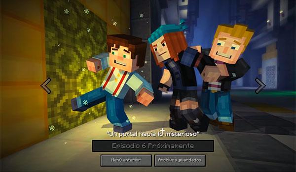 El 6º episodio de Minecraft: Story Mode será lanzado en junio. El 7º y el 8º durante verano.
