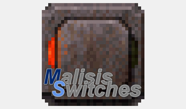 MalisisSwitches Mod para Minecraft 1.9