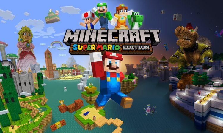 Microsoft, Nintendo y Mojang llevarán Super Mario a Minecraft Wii U Edition.