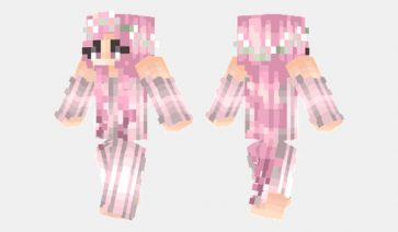 Sakura Girl Skin para Minecraft
