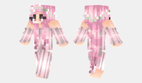 Sakura Girl Skin