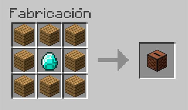 Cómo hacer un tocadiscos en Minecraft