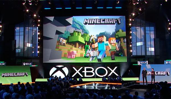 Conferencia de Minecraft en el E3 2016