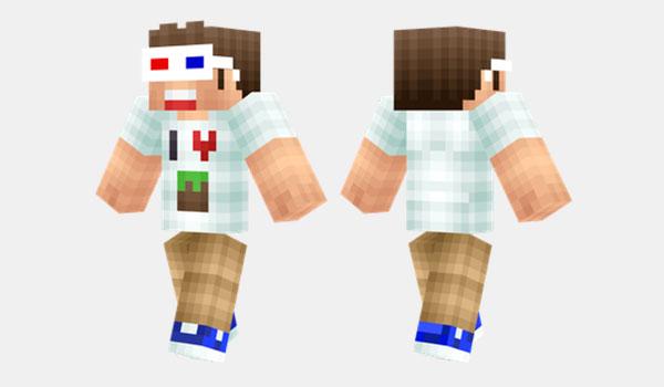 Minecraft Fan Skin