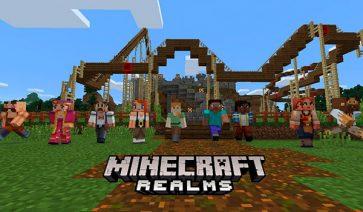 Llega el cross-platform en Realms y los paquetes de textura a Minecraft PE, Win 10 y consolas.