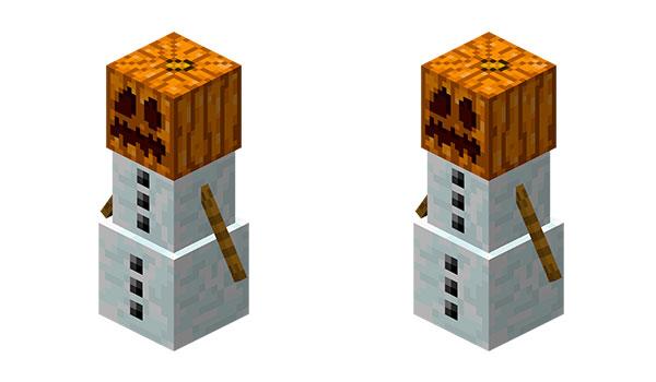 Cómo hacer un muñeco de nieve en Minecraft