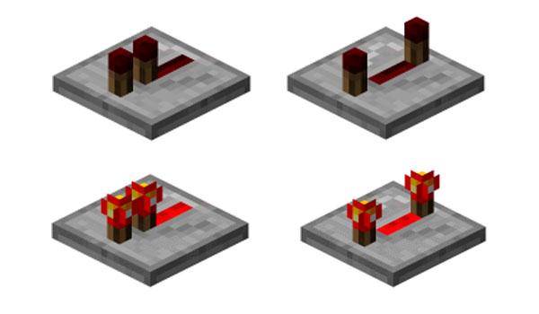 Cómo hacer repetidor en Minecraft