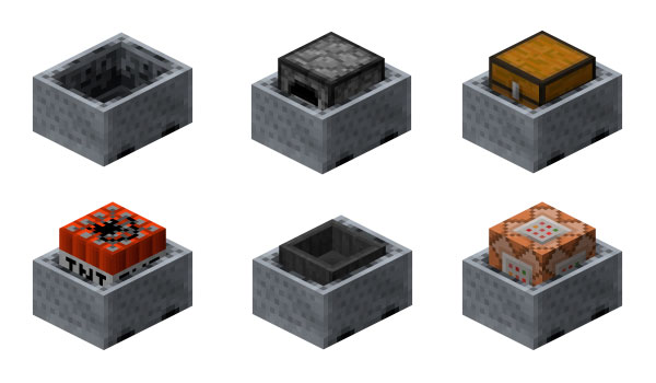 Vagonetas Minecraft