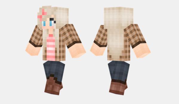 Country Girl Skin para Minecraft