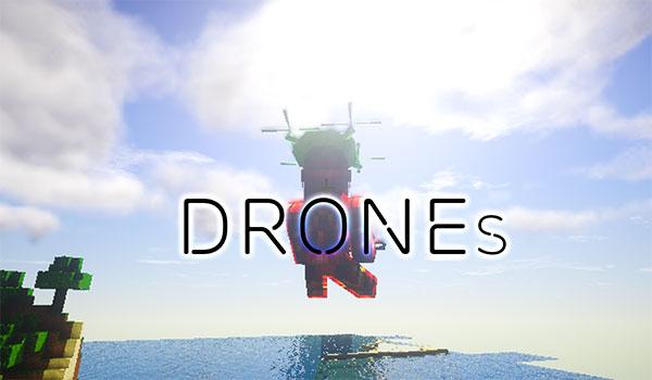 Custom Drones Mod para Minecraft 1.10.2