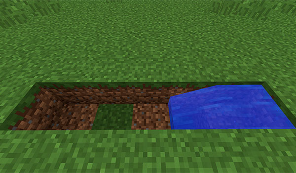 imagen donde vemos como hay que colocar el agua en el generador de roca infinita.