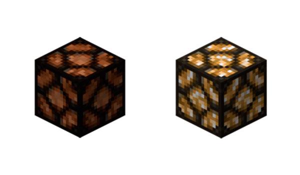 Lámpara de Redstone