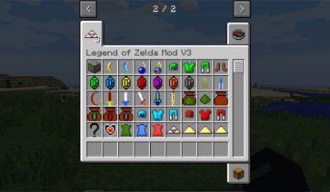 Legend of Zelda Mod para Minecraft 1.10.2