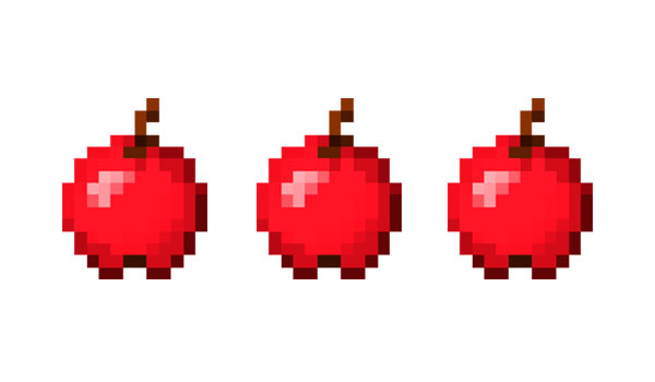 Manzanas Minecraft