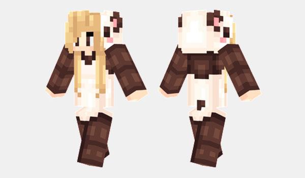 Panda Onesie Skin para Minecraft
