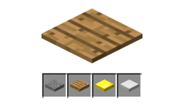 Placas de presión en Minecraft