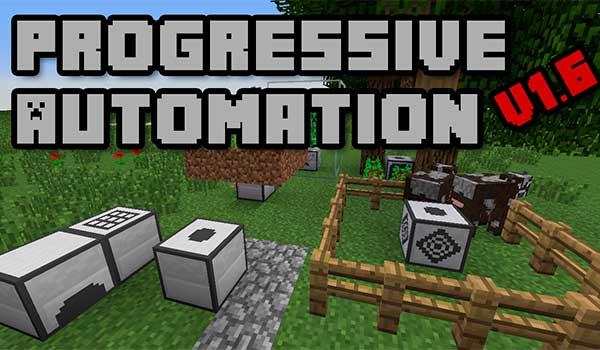 Progressive Automation Mod para Minecraft 1.10.2