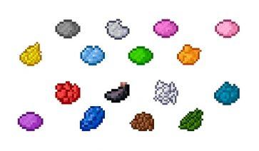 Tintes Minecraft