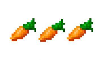 Zanahorias Minecraft