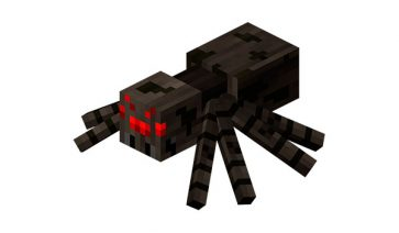 Araña Minecraft