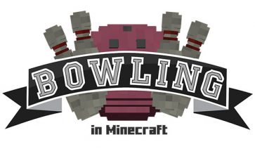 Bowling Map para Minecraft 1.10