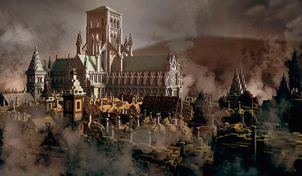 El Museo de Londres recrea el Gran Incendio de 1666, en Minecraft.