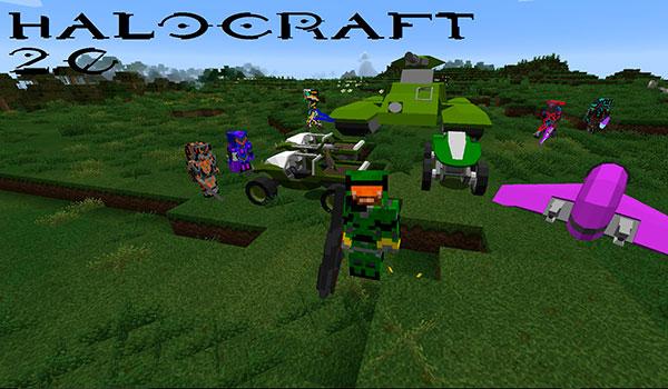 HaloCraft 2.0 Mod para Minecraft 1.10.2