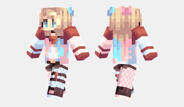 Harley Quinn Skin para Minecraft