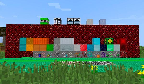 M-Ore Mod para Minecraft 1.10