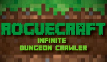 RogueCraft Infinite Dungeon Crawler Map para Minecraft 1.10