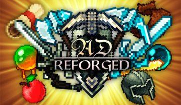 AD Reforged Texture Pack para Minecraft 1.10 y 1.9
