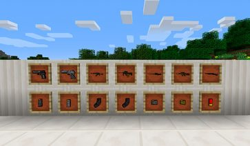 Counter Guns Mod para Minecraft 1.10.2