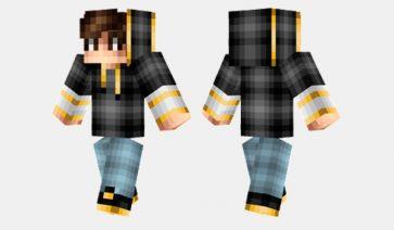 Golden Hoodie Skin para Minecraft