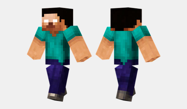 Herobrine HD Skin para Minecraft