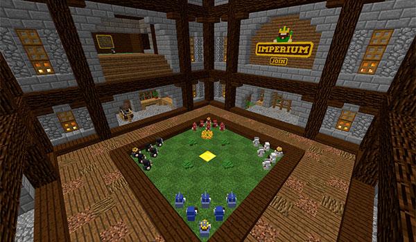 Imagen donde podemos ver el escenario de los enfrentamientos en el mapa/minijuego Imperium.