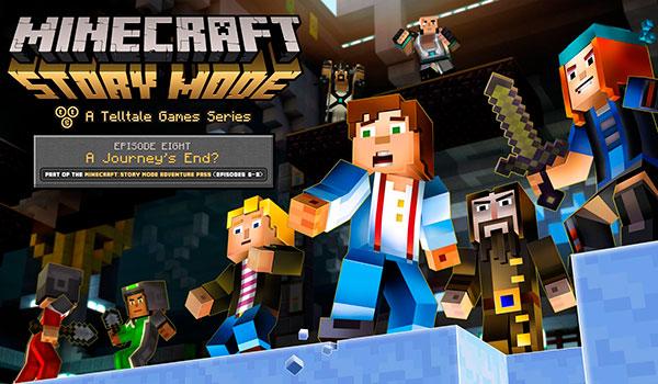 Minecraft Story Mode episodio 8