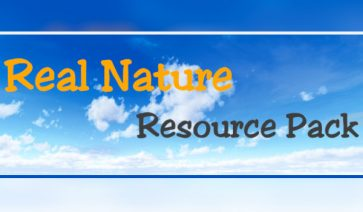 Real Nature Texture Pack para Minecraft 1.10 y 1.9