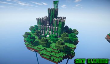 Sky Element Map para Minecraft 1.10