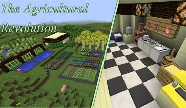The Agricultural Revolution Mod para Minecraft 1.10.2