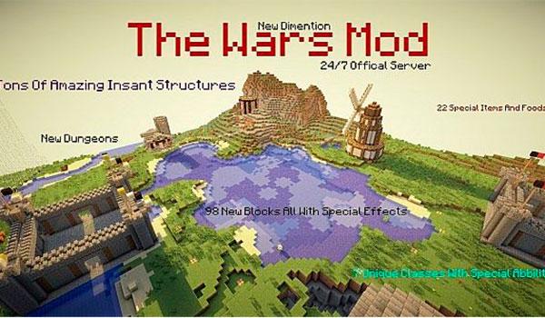 The Wars Mod para Minecraft 1.10.2