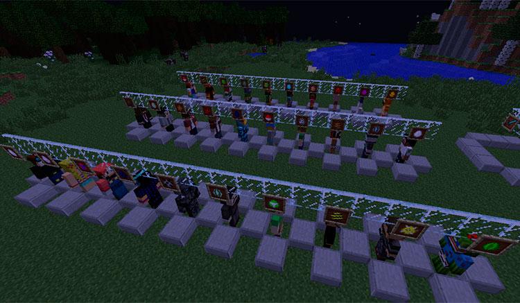 Youtubers Plus Mod para Minecraft 1.10