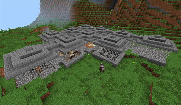 Imagen donde podemos ver una las estructuras donde aparecen los youtubers de este mod.